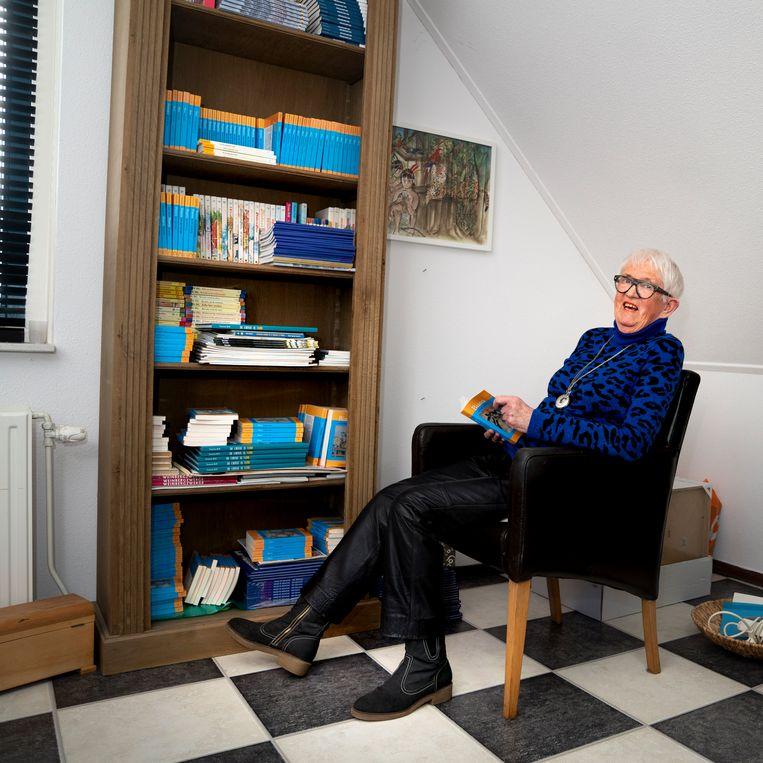 Yvonne Brill, auteur van de Bianca meisjesboekenserie. Beeld reyer boxem