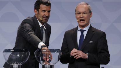 """Luis Figo: """"De Rode Duivels zijn fantastisch, maar geen EK-topfavoriet"""""""