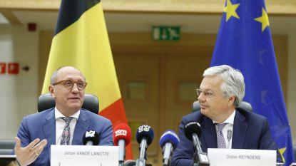 Opdracht Vande Lanotte en Reynders verlengd: Groen valt af