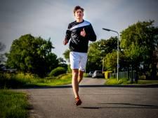 Verstand op nul en gaan: AD-stagiair Jan loopt de marathon