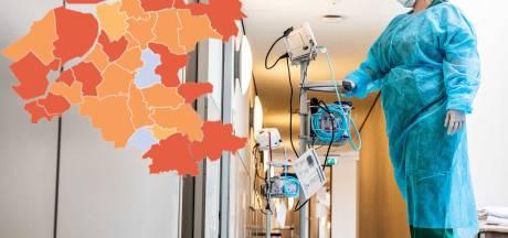 KAART | Slechts één rode gemeente over op coronakaart, aantal besmettingen in IJsselland daalt flink