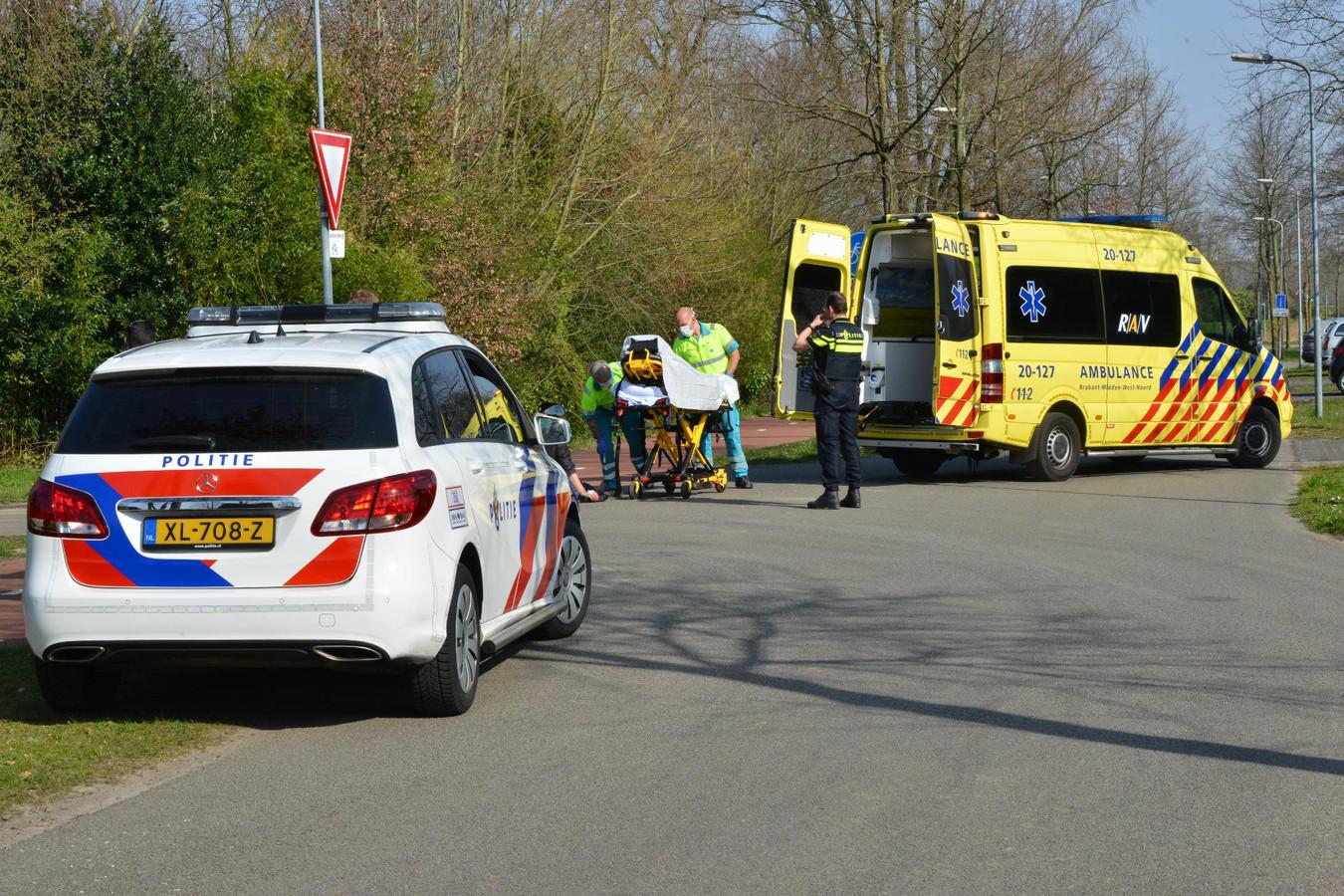 Ongeluk op Heilaarpark in Breda.