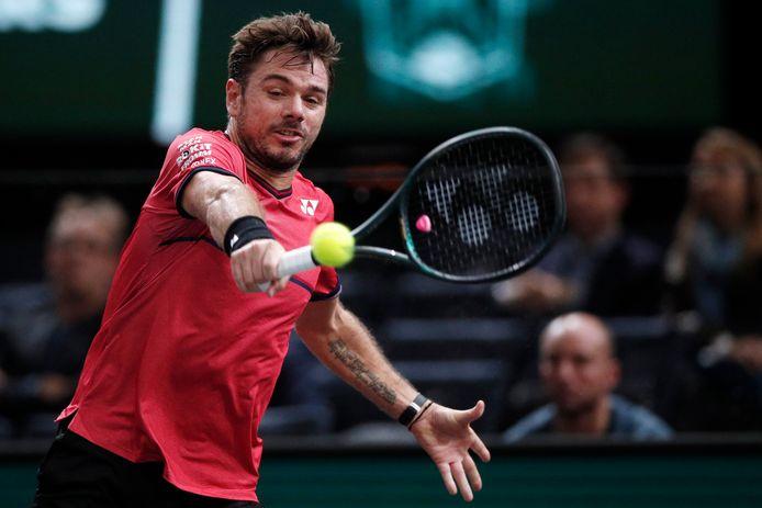 Le revers à une main de Stan Wawrinka ne laisse pas Novak Djokovic indifférent.