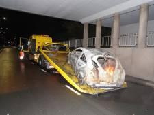 Vier afzonderlijke autobranden in Den Bosch
