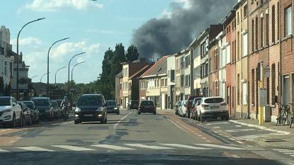 VIDEO. Zware brand bij Mechelse bandenfabrikant