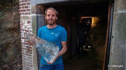 """Experiment ijskelder van Arenberg: van 35 naar 5 ton…""""Recordtemperaturen lieten ijs sneller smelten!"""""""