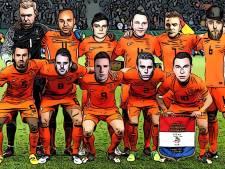 Johan Vlemmix dobbert rond in gele zwembroek en Showtek weet hoe Oranje het WK alsnog wint