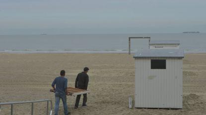 Strandcabines in Knokke-Heist mogen voorlopig niet gebruikt worden