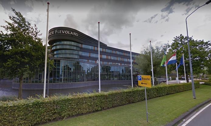 Het provinciehuis in Lelystad.
