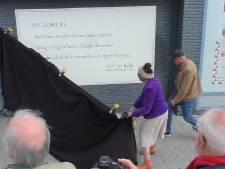 Eerste 'gedicht op de muur' gepresenteerd in Hengelo