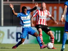 PEC Zwolle knokt zich naar eerste punt tegen Sparta