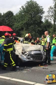 Twee gewonden bij ongeval op A58 bij Oirschot