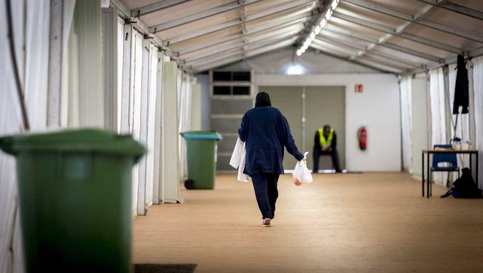 Een vluchtelinge in Heumesoord.