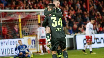 VIDEO. Standard boekt in Kortrijk eerste uitzege sinds eind september, Lestienne scoorde al na 19 seconden