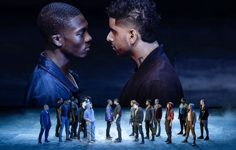 West Side Story in de regie van Ivo van Hove. Beeld Jan Versweyveld