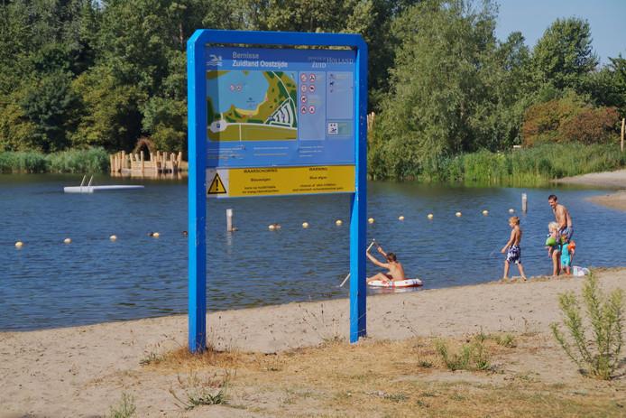 Er is blauwalg geconstateerd in de Bernisse bij Zuidland.