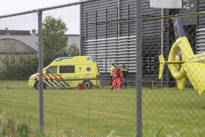 Bij een bedrijfsongeluk bij machinefabriek Douna in Leeuwarden zijn op 17 mei 2018 twee medewerkers van Mokveld Valves uit Gouda om het leven gekomen. Archiefbeeld.