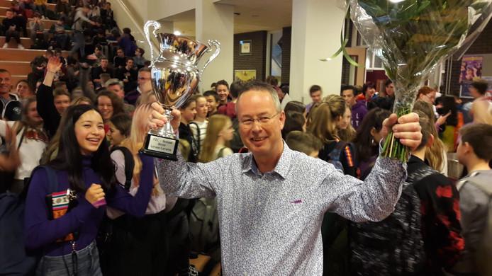 Arjen Baart is de beste leraar van Zeeland 2019.