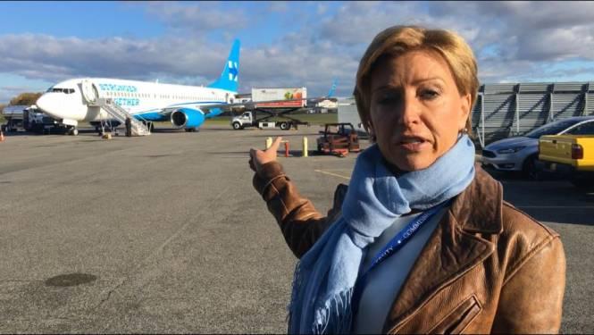 VTM NIEUWS mee aan boord met Clinton