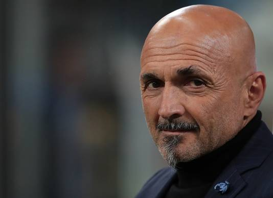 Inter-coach Luciano Spalletti.