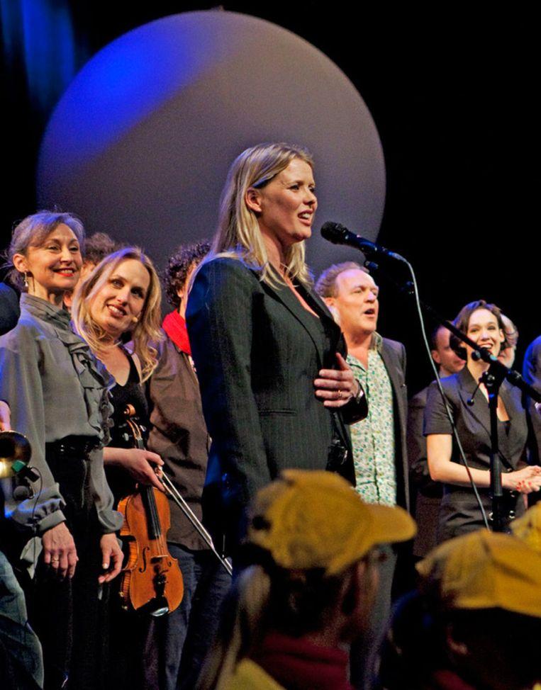 Babette van Veen in Carré. Foto ANP Beeld