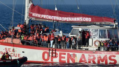 Reddingsschip voor Libische kust verlegt werkterrein naar Spanje
