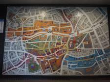 Nieuwe plattegrond van de stad telt zo'n 15.000 steentjes