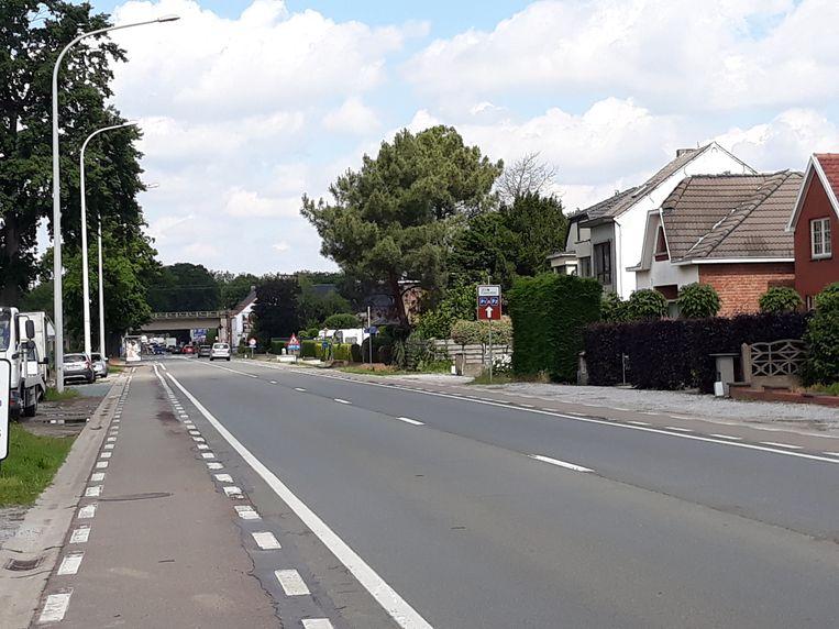De Leuvensesteenweg in Muizen