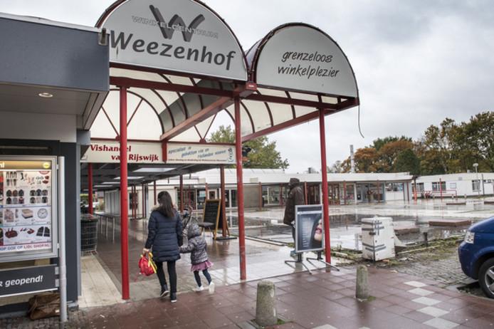 Het huidige winkelcentrum Weezenhof in Nijmegen.