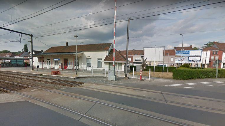 Het treinstation van Ingelmunster.