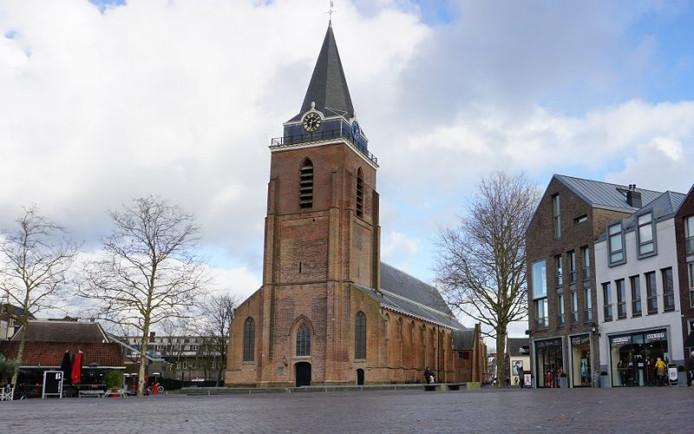 De Petruskerk in Woerden.