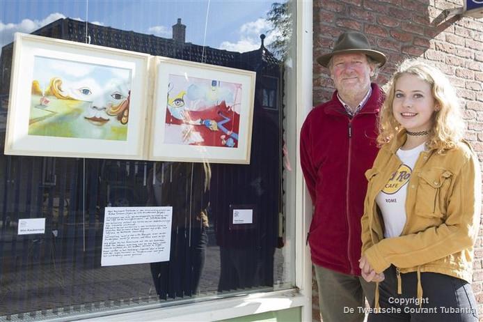Wim Kwakernaak en Esther Dolman zijn blij met het resultaat van hun samenwerking.