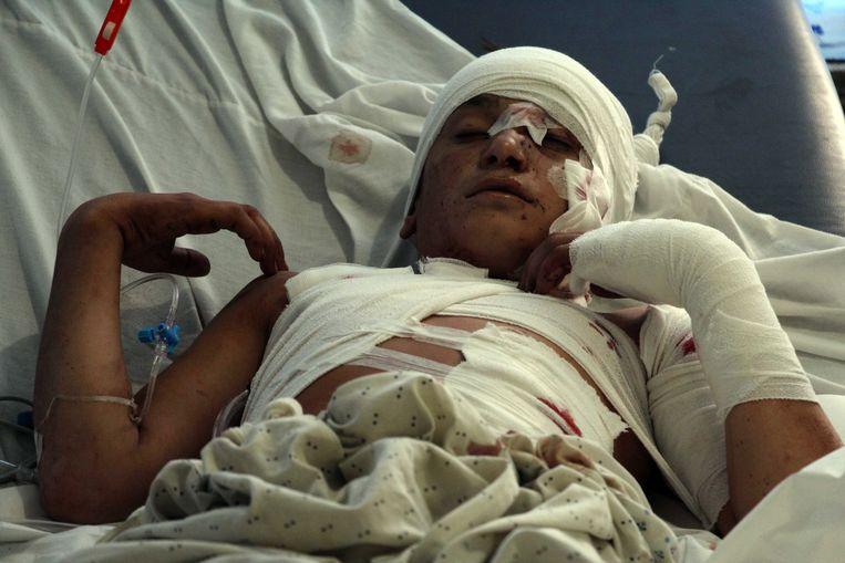Gisteren kwamen ook al drie kinderen om het leven bij een bomaanslag in Kandahar.