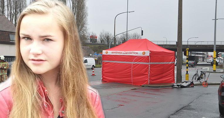 Nikita Everaert werd op 19 februari 2018 aangereden op het 'zwart kruispunt' in Oostakker.