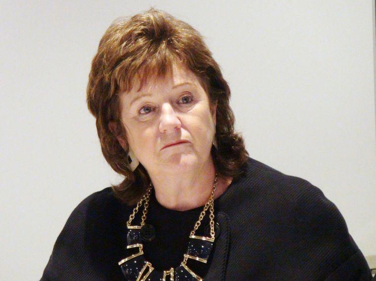Alexis Jay, die het onderzoek naar de seksuele uitbuiting van kinderen in Rotherham leidde. Beeld ap