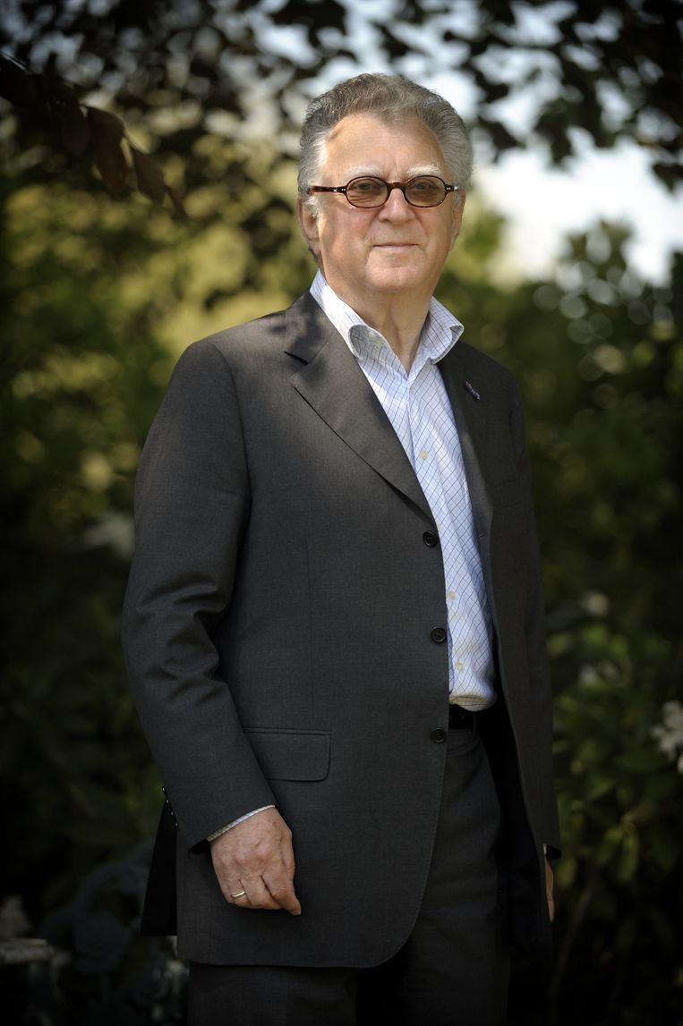 Arnold Heertje in 2009. Beeld Joost van den Broek/ de Volkskrant
