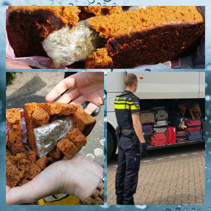 Drugs gevonden bij controle in Steenbergen.
