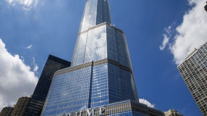 """Trump Tower pompt iedere dag illegaal miljoenen liters water uit Chicago River"""