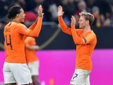 De Jong blij na doldwaze ontknoping: 'Op z'n Duits naar halve finale Nations League'