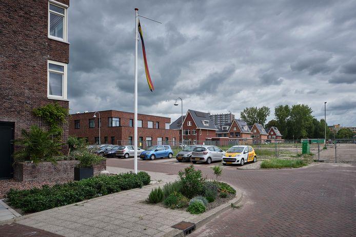 Medisch Centrum Hoog Lede (gebouw midden) ligt in de wijk Park Hooglede, die nog niet helemaal af is.