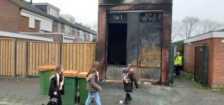 Stroomhuis totaal uitgebrand in wijk Biesdonk: 'Ga je eigen spullen in de fik steken'
