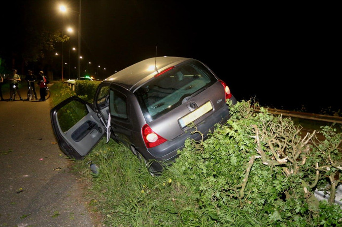 Ongeval bij Hedelse brug.