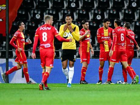 GA Eagles vernedert  geplaagd NAC en plaatst zich met clubrecord voor tweede ronde KNVB-beker