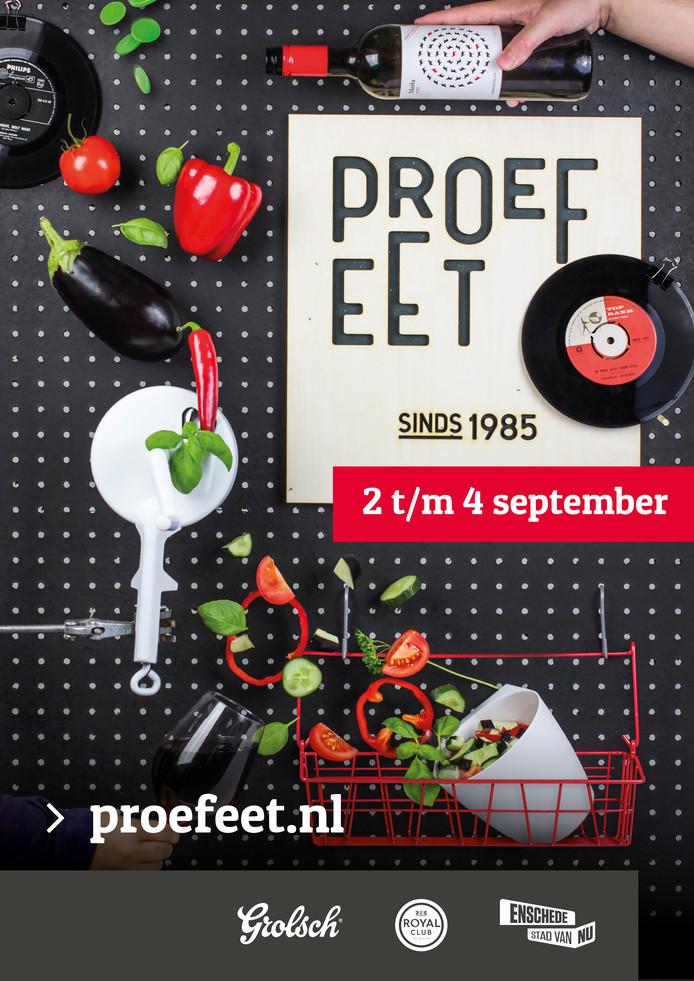 De nieuwe huisstijl van Proef Eet