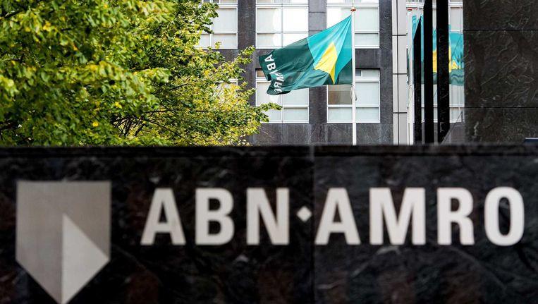 ABN AMRO meldde maandag een nettowinst van 509 miljoen euro over het derde kwartaal. Beeld anp