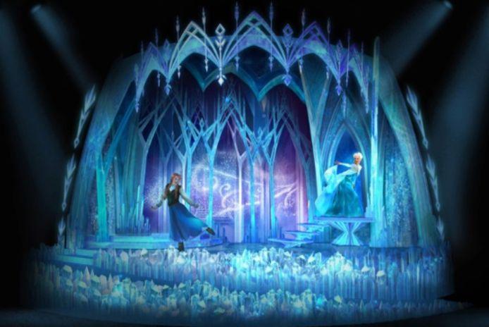 De nieuwe 'Frozen'-belevenis in Disneyland.