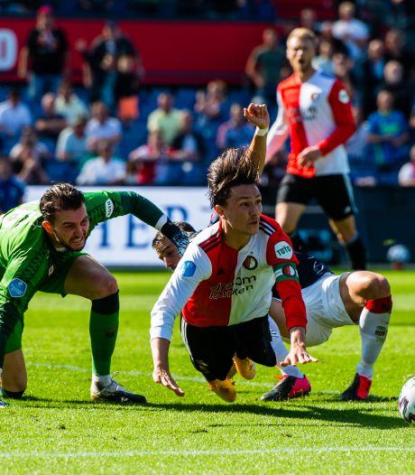 Feyenoord na dramatische start niet langs FC Twente in eerste thuisduel