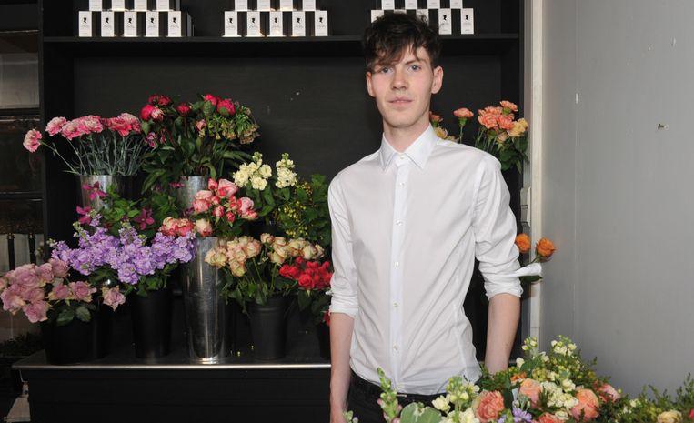 Vincent Moens (20) van Flowers&Decorations.