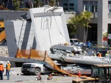 Ingenieur zag twee dagen voor instorten brug Miami al scheurtjes