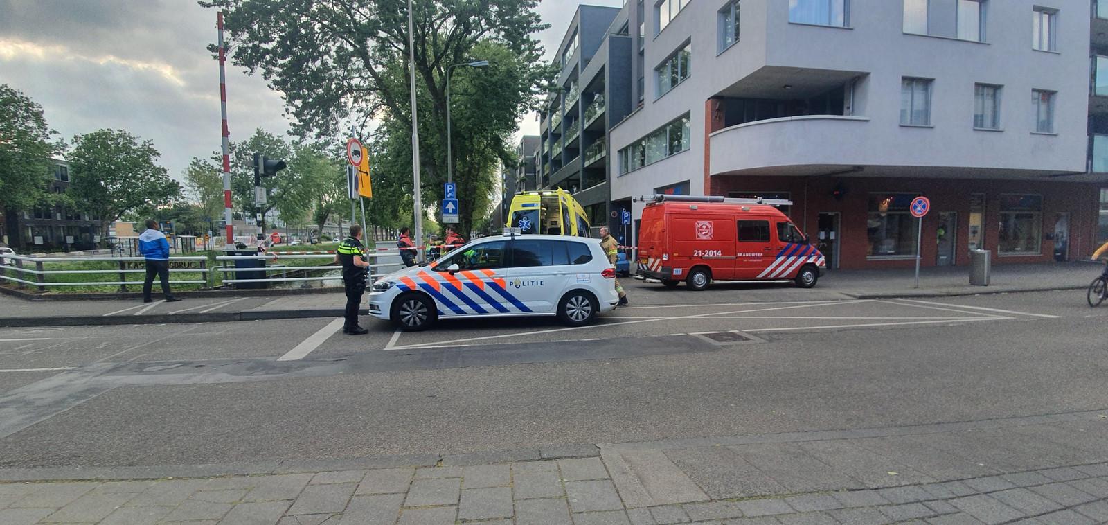Persoon uit water gehaald in Den Bosch.